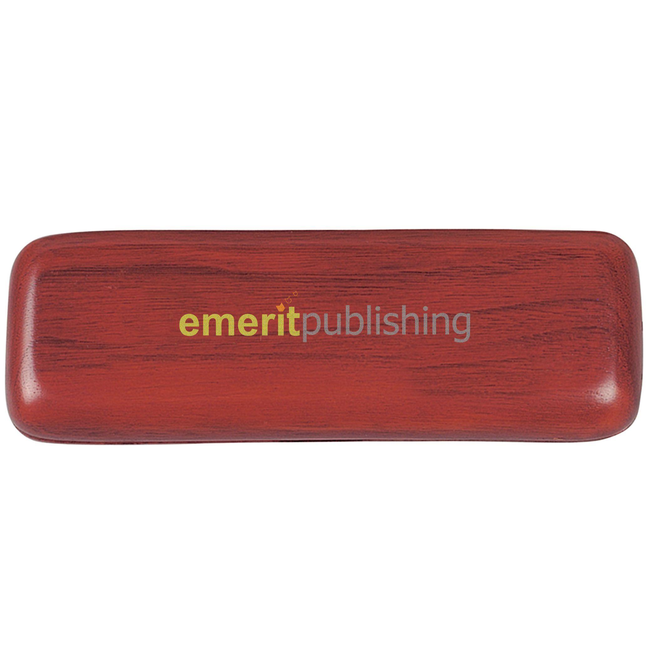 Parure bois stylo Bille publicitaire et Roller Wood