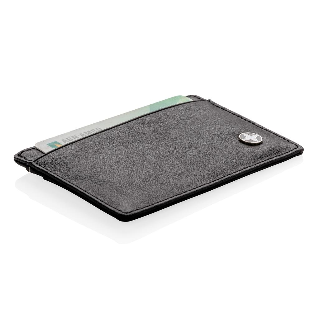 Portefeuille publicitaire - Porte-cartes RFID Swiss Peak