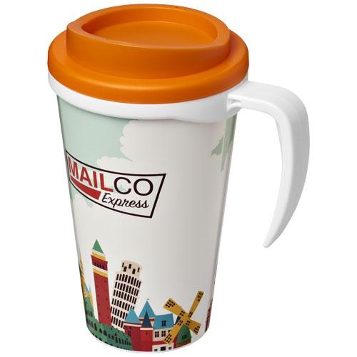 Cadeau entreprise client - Mug isotherme publicitaire Brite-Americano® grande 350 ml