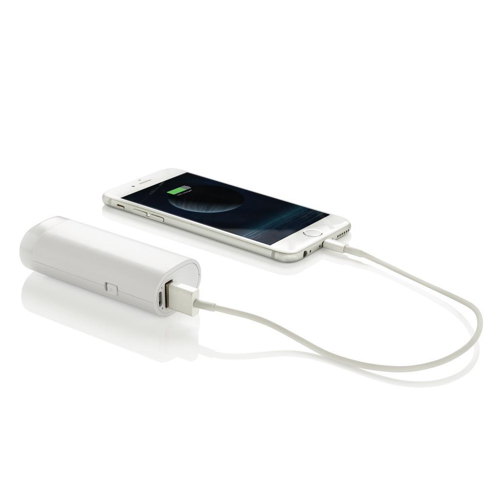 Batterie de secours 2500 mAh personnalisable Roxy  - cadeau d'entreprise high-tech
