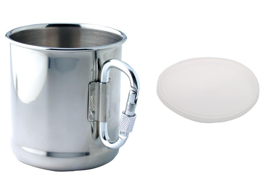 Mug personnalisable Army - mug publicitaire avec mousqueton