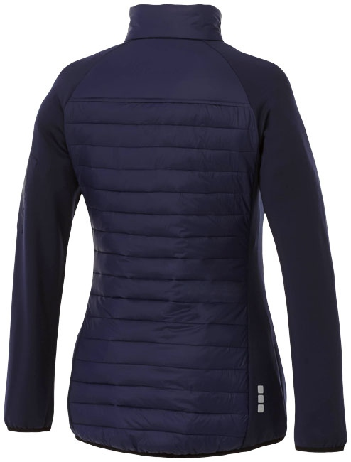 Objet publicitaire textile - Doudoune publicitaire Hybride Banff Femme