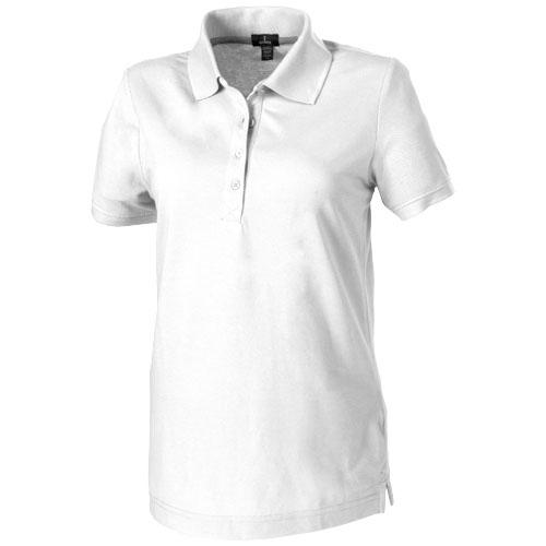 Polo personnalisable femme blanc Crandall - textile publicitaire