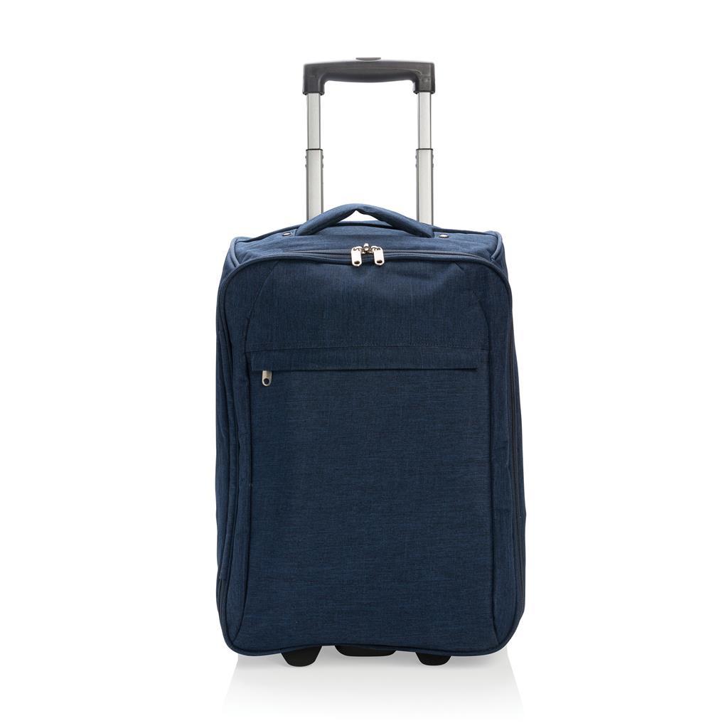 cadeau d'entreprise voyage - Trolley pliable Paris bleu