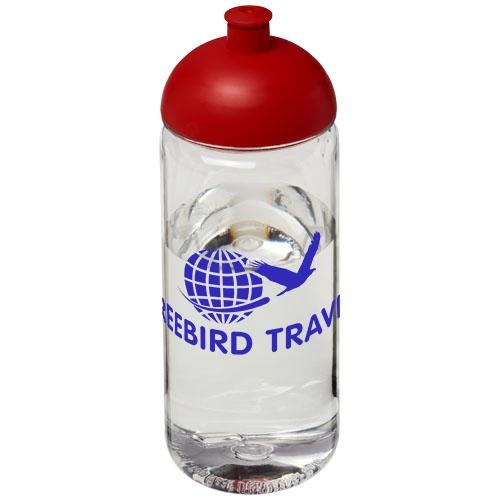 Bouteille de sport personnalisable H2O Octave Tritan™ 600 ml avec couvercle dôme