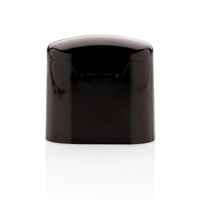 écouteurs sans fil avec boîtier noir