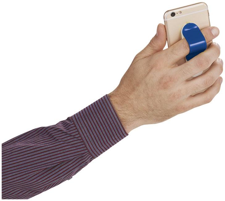 Goodies - Support pour Smartphone publicitaire Compress - bleu