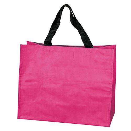 Sac shopping personnalisable  en pp tissé Shopy - sac cabas publicitaire bleu