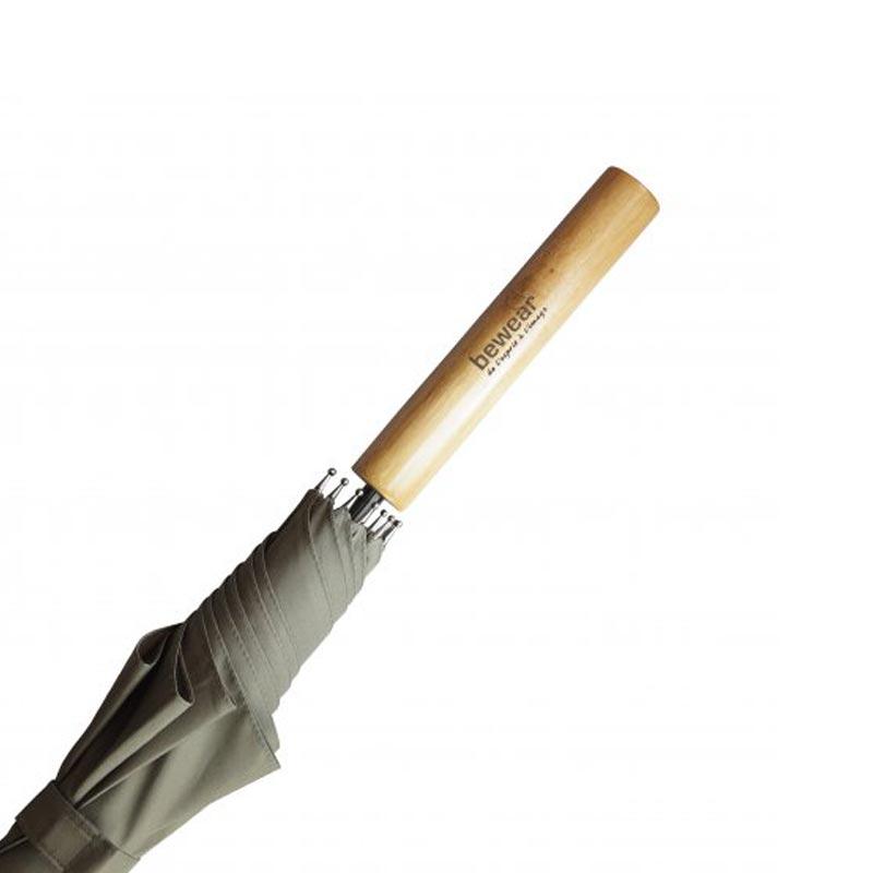 Détail manche parapluie publicitaire Locwood
