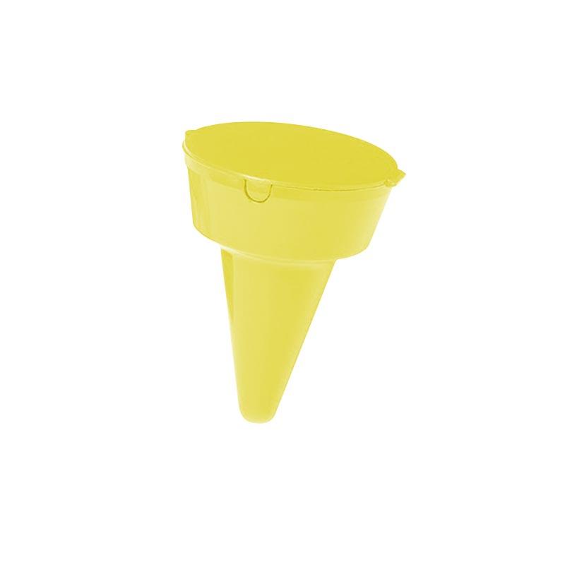 Cendrier de plage personnalisable - jaune