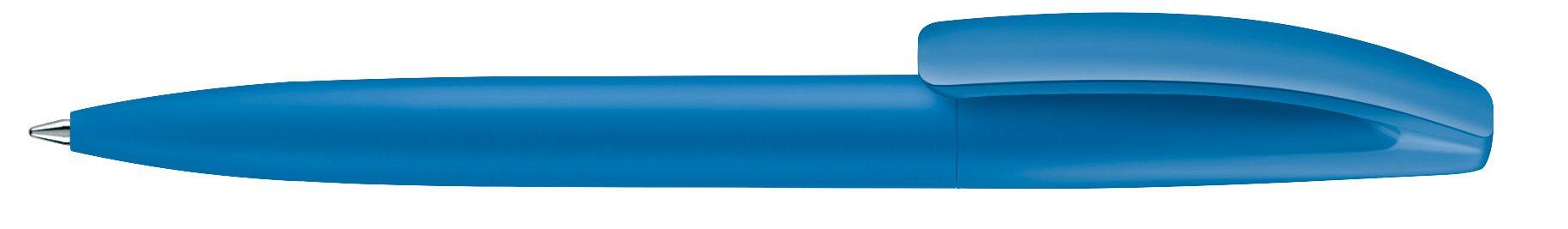 Stylo à bille Bridge soft Touch personnalisé bleu foncé