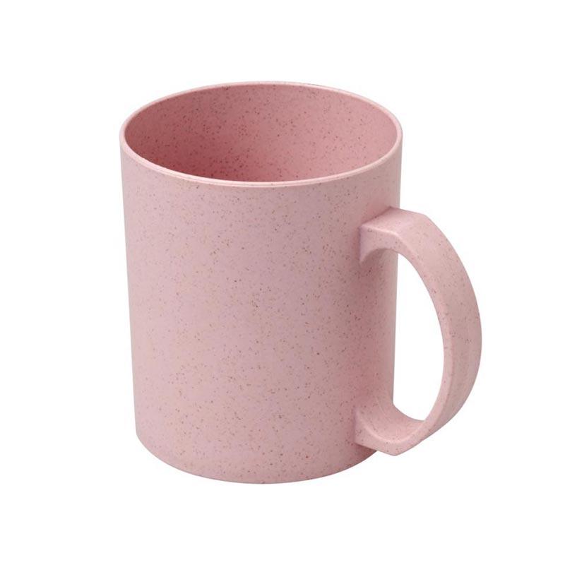 Mug réutilisable en fibres de paille de blé Pécos pour marquage logo entreprise