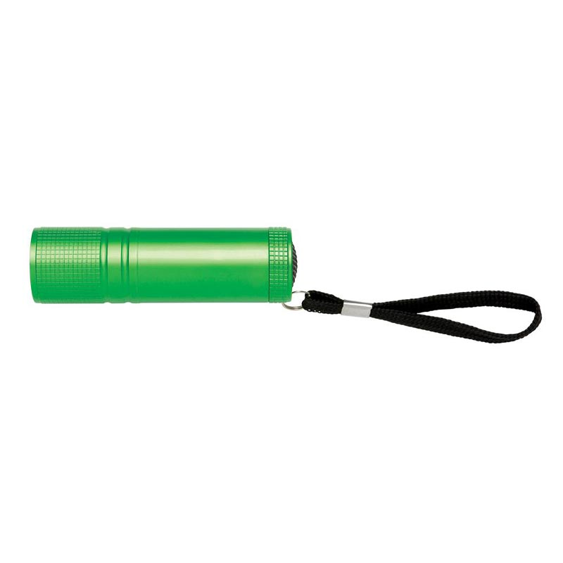 Lampe torche personnalisée COB Fortissimo - vert