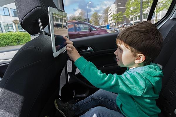 Cadeau publicitaire - Support tablette publicitaire pour voiture