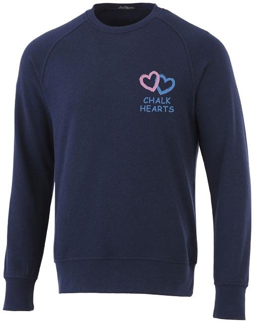 Sweater publicitaire Kruger bleu marine