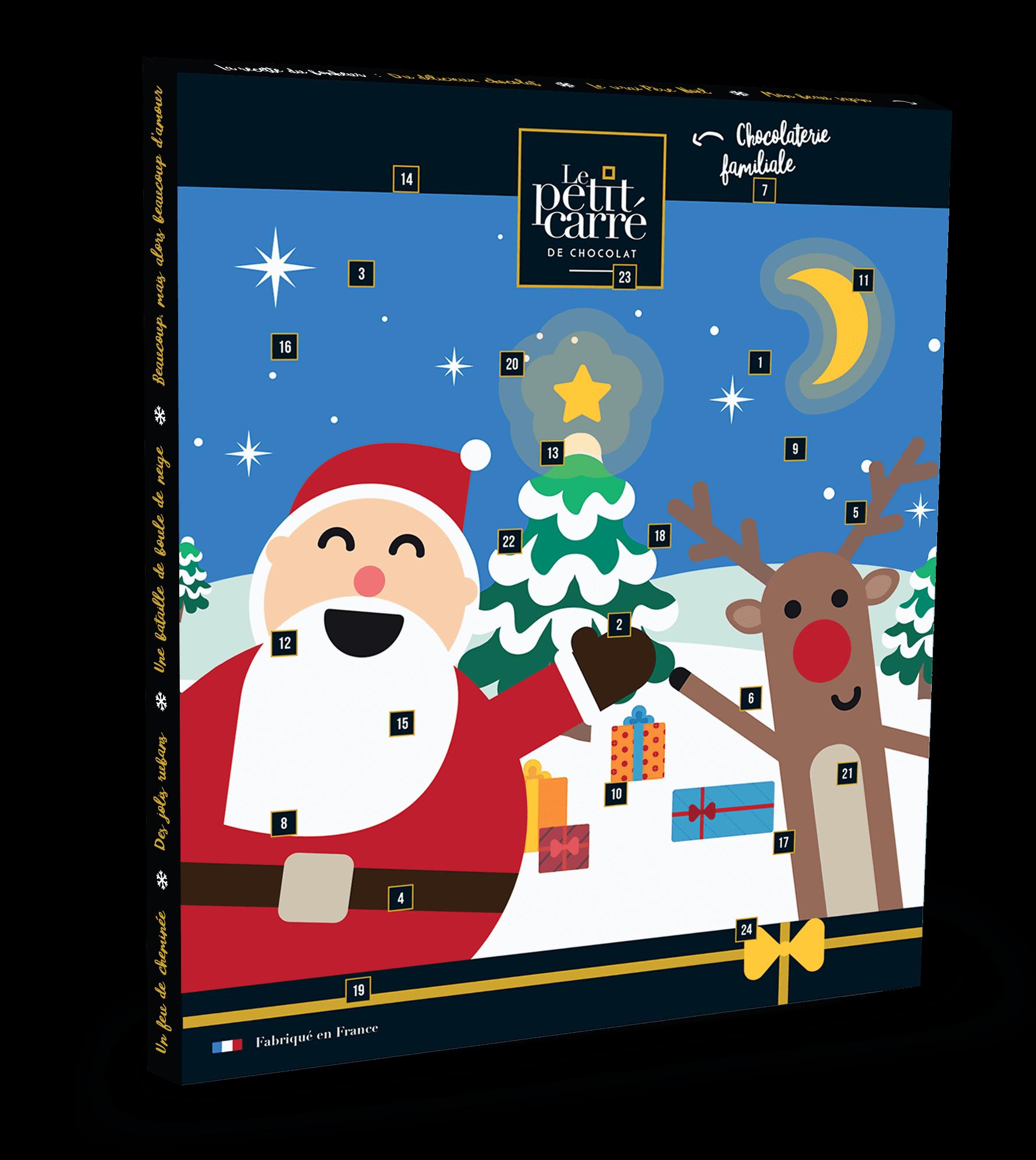 Calendrier de l'Avent Thème - Goodies Noël
