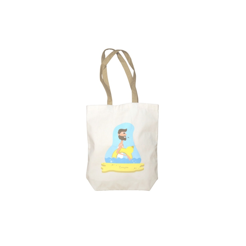 Sac shopping publicitaire Donna - Tote bag personnalisable en coton