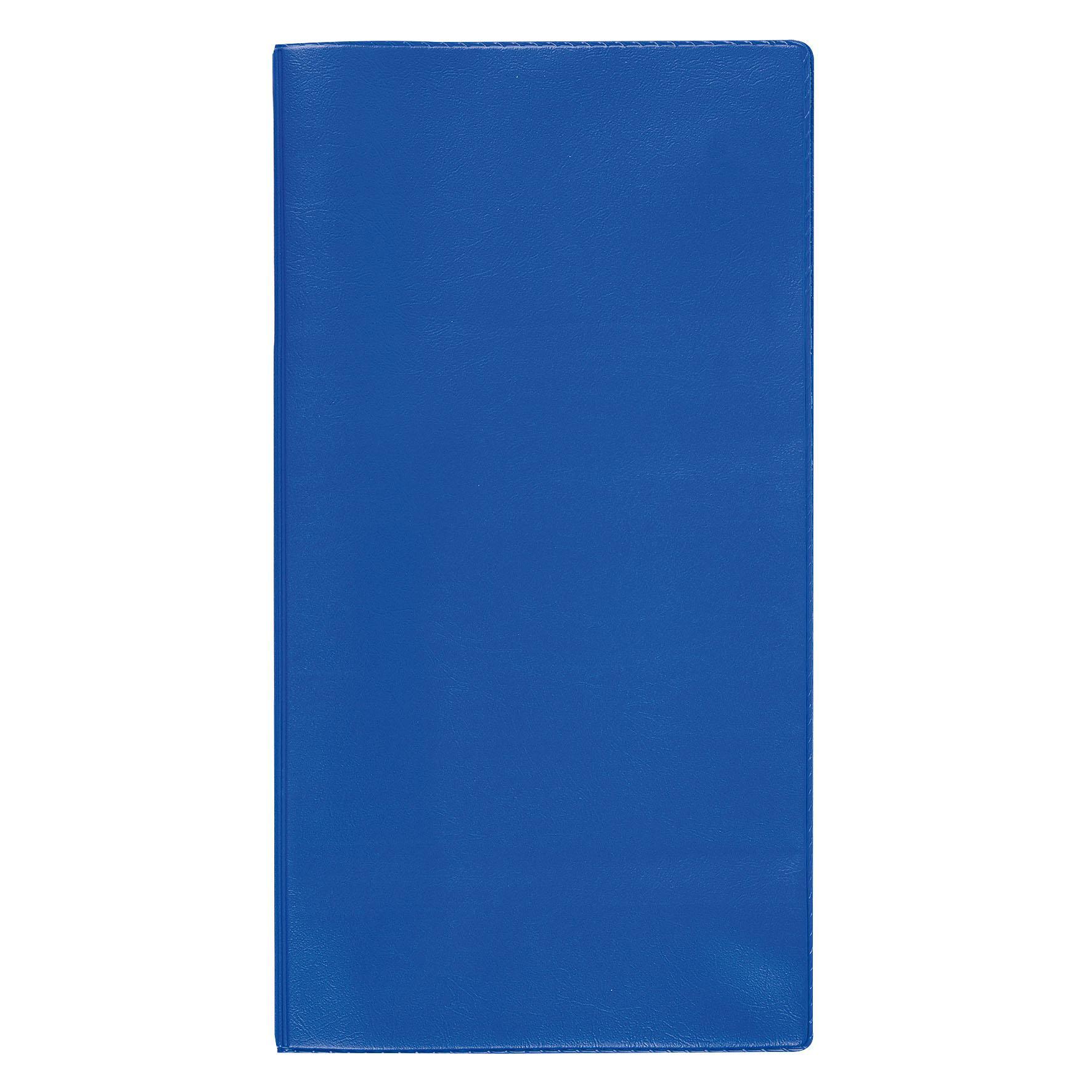 Cadeau promotionnel - Pochette de voyage publicitaire Verticale - bleu