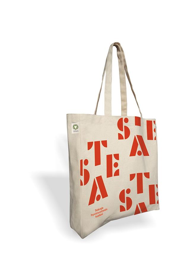 Sac shopping publicitaire écologique coton Bio 160g Cabas
