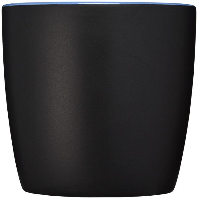 Mug personnalisé Riviera noir et bleu