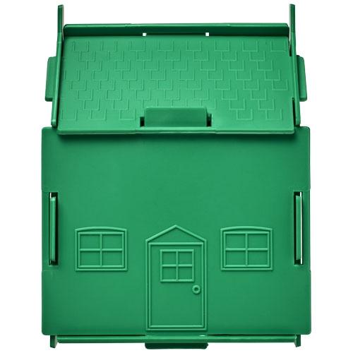 Goodies entreprise - Tirelire personnalisée plastique Unit Maison