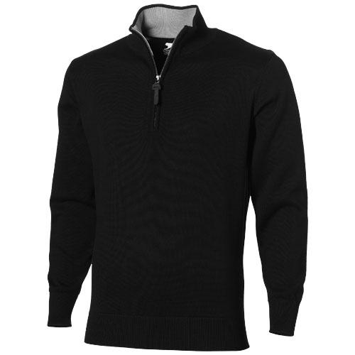 cadeau entreprise - Pull  coton personnalisable col zip Set