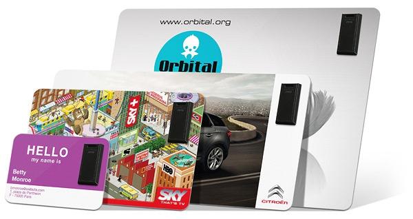 Clé USB publicitaire prête-à-coller - Cadeau promotionnel