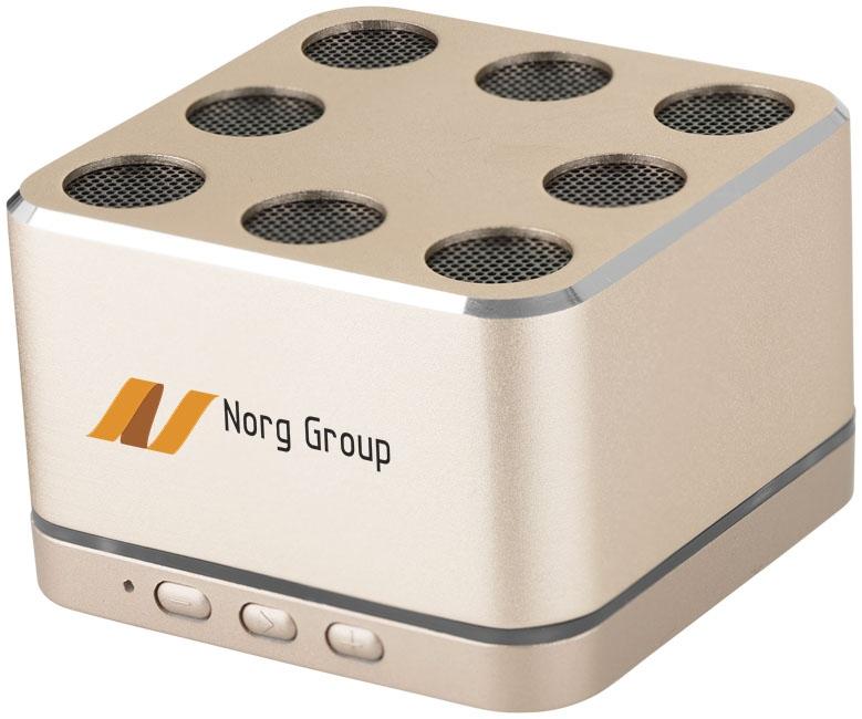 Haut-parleur Bluetooth® publicitaire Morley - cadeau d'entreprise