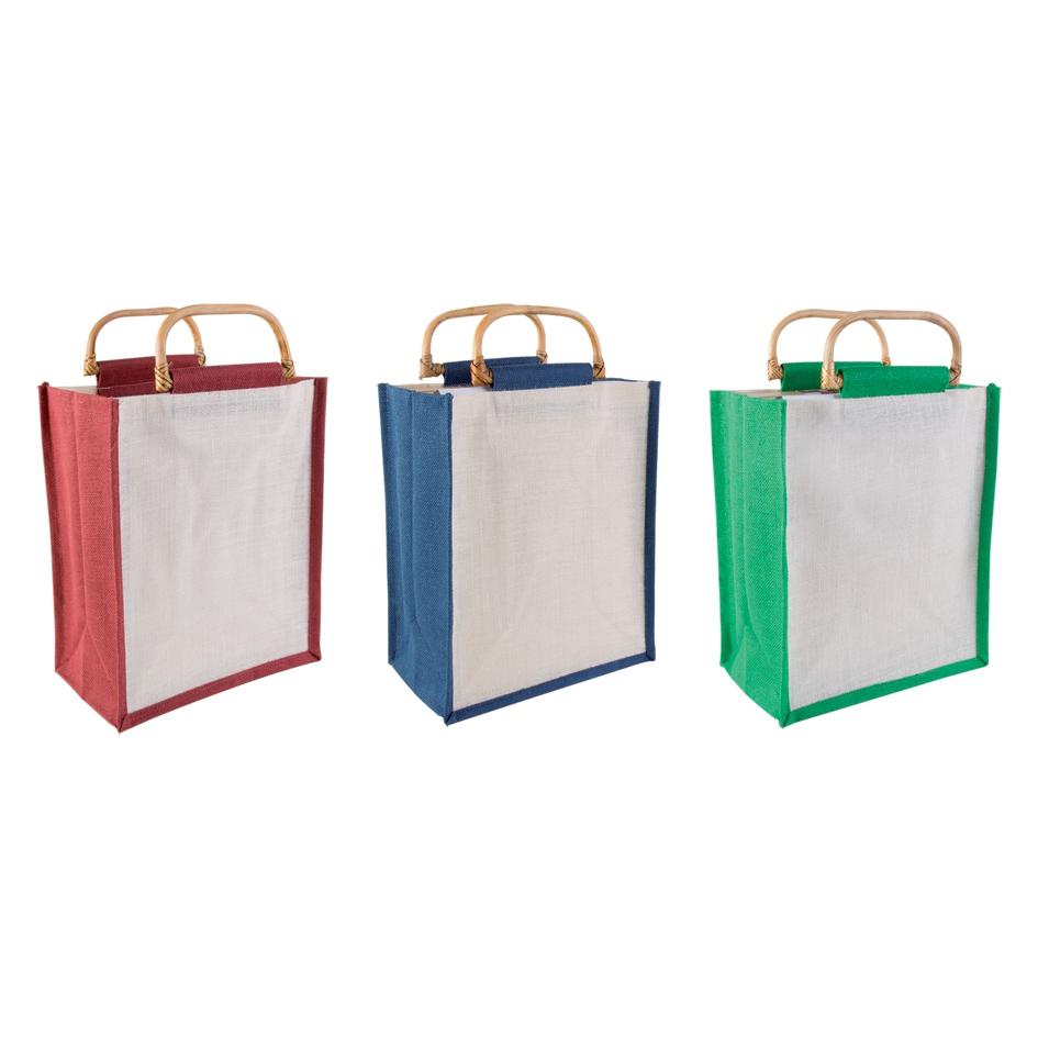 Sacs shopping publicitaires écologiques Bansuri - objets publicitaires écologiques