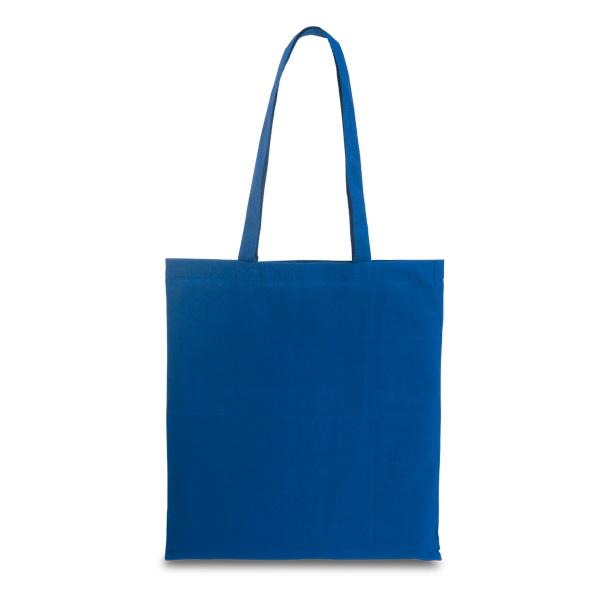 Sac shopping personnalisable Painting bleu - sac shopping promotionnel