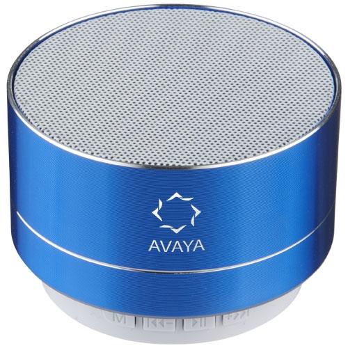 Enceinte publicitaire métal Bluetooth® Blues