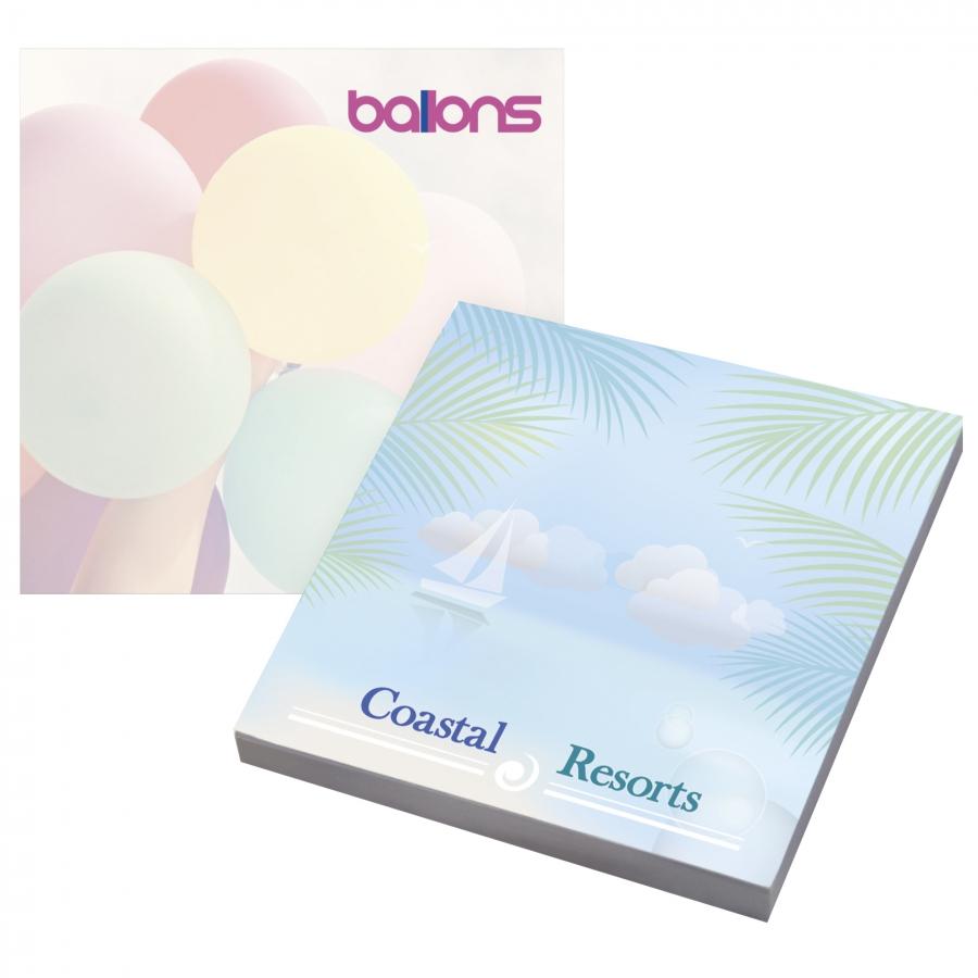 Bloc-notes publicitaire écologique50 feuilles BIC® 75 mm x 75 mm