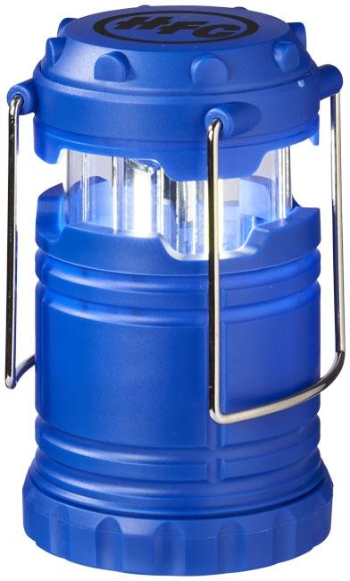 Lanterne publicitaire avec lumière COB Cobalt bleue