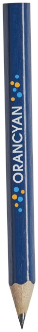 Crayon à papier publicitaire avec corps de couleur Par bleu