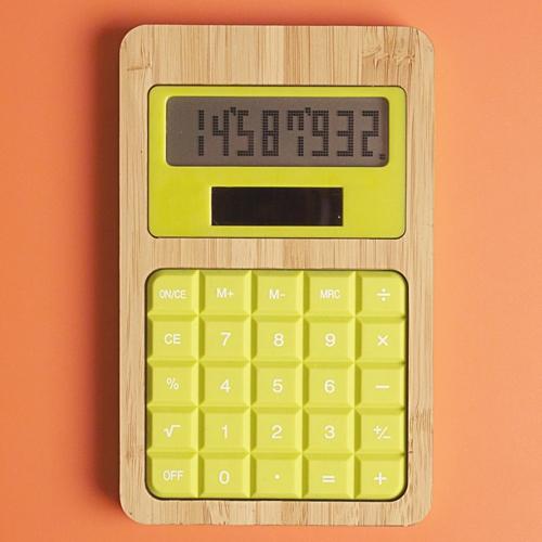 Calculatrice publicitaire écologique Silical - Calculatrice solaire