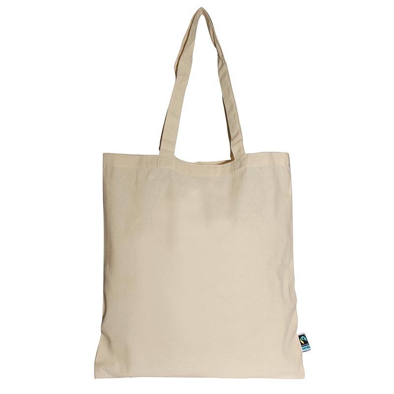 Tote bag coton équitable à personnaliser Bareli Fairtrade