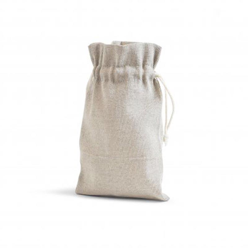 petit sac publicitaire en coton bio ou recyclé coloris naturel