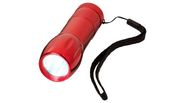 lampe-torche-publciitaire-rouge
