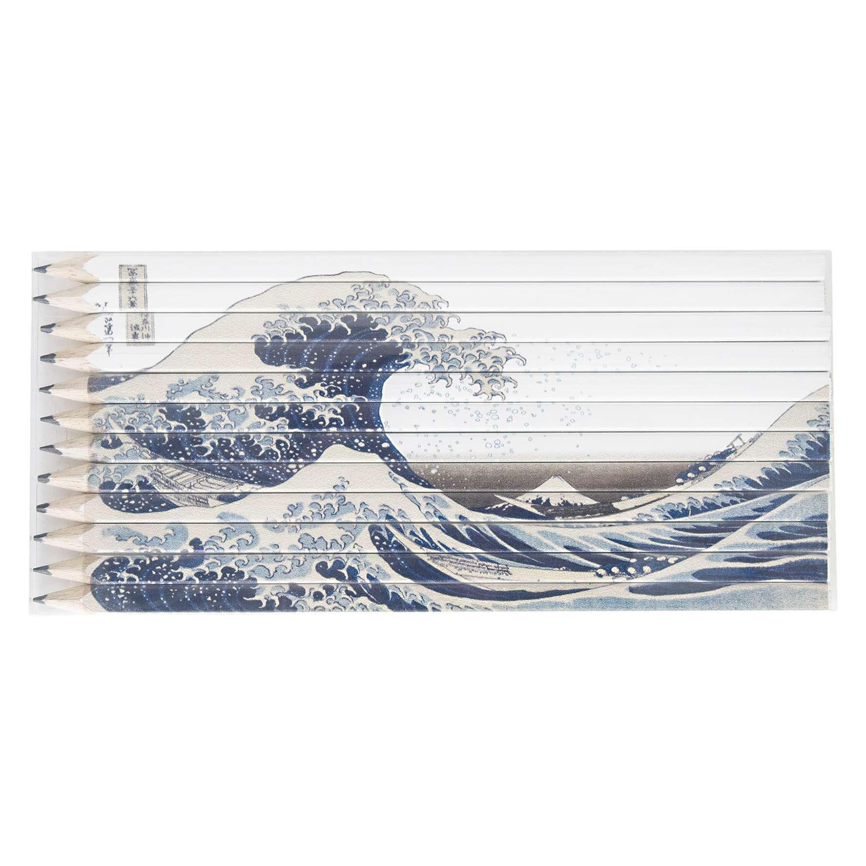 Goodies écologique - Set Quadri 12 crayons publicitaires Graphite 17,6 cm