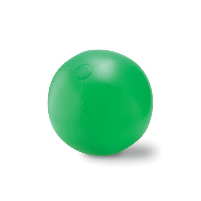 Objet publicitaire - Ballon plage gonflable en PVC Play - orange