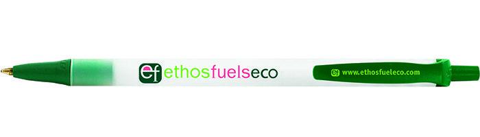 Stylo personnalisable écologique BIC® Ecolutions® Clic Stic™ Bille