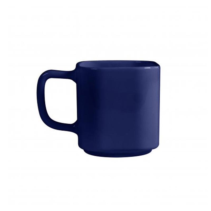 Mug en céramique bleu