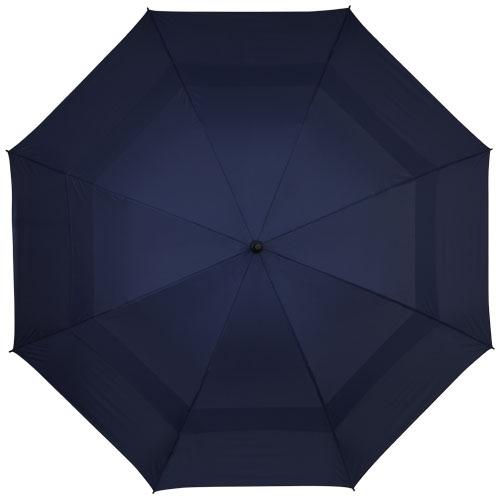 cadeau d'entreprise - parapluie droit tempête publicitaire Newport noir