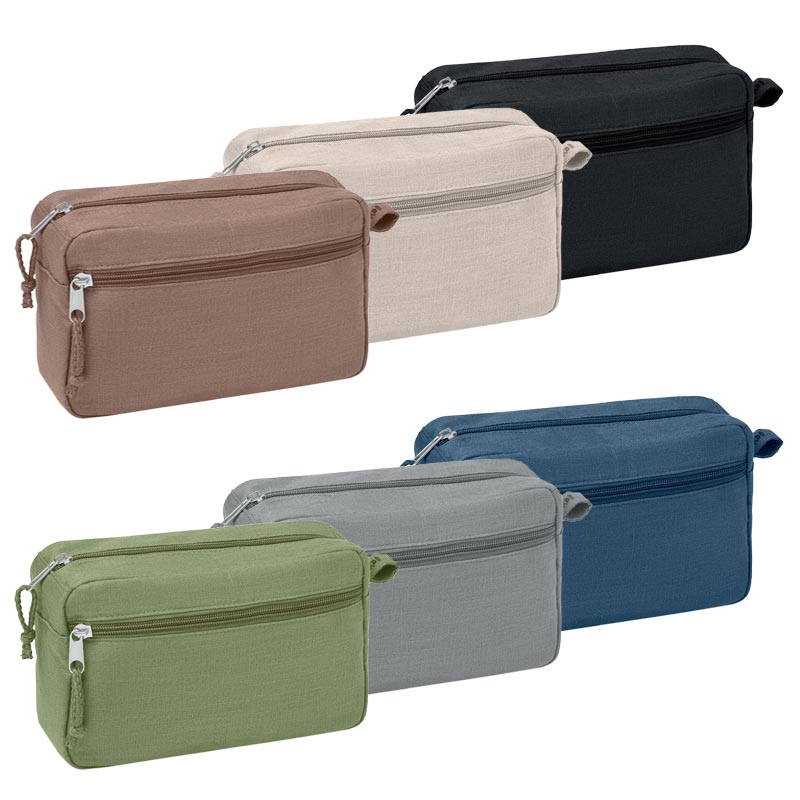 Trousses de toilette publicitaires 6 coloris Naima