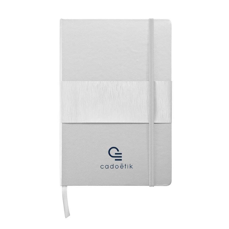 Carnet A5 publicitaire à couverture rigide