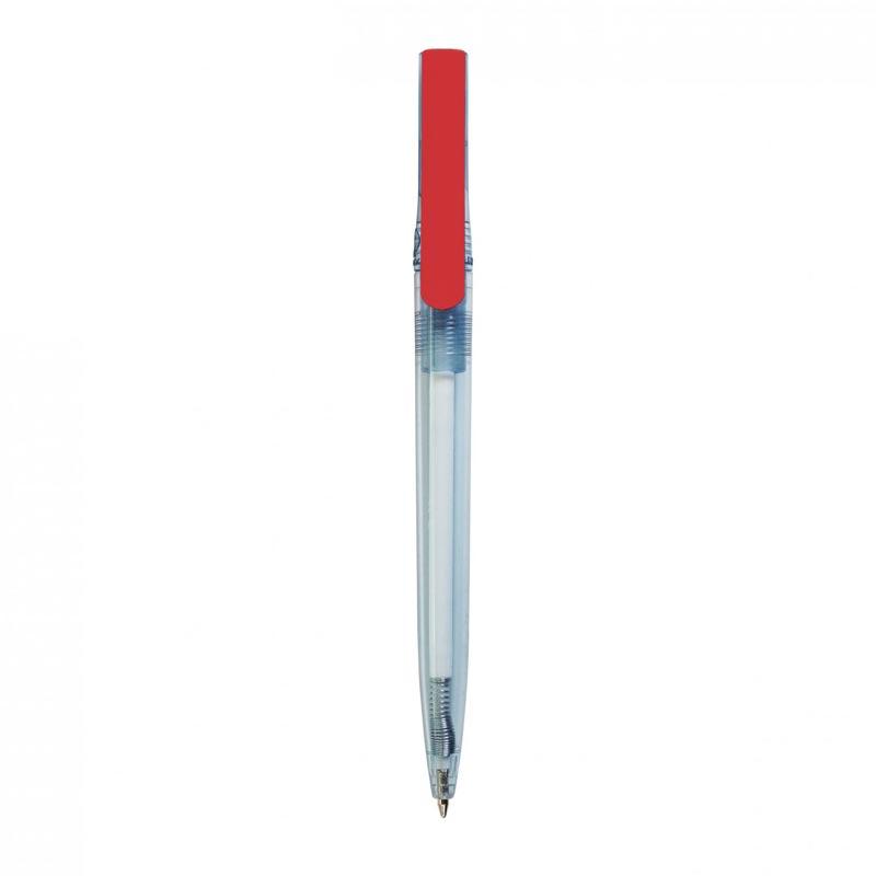 stylo bille publicitaire en rpet Dam rouge