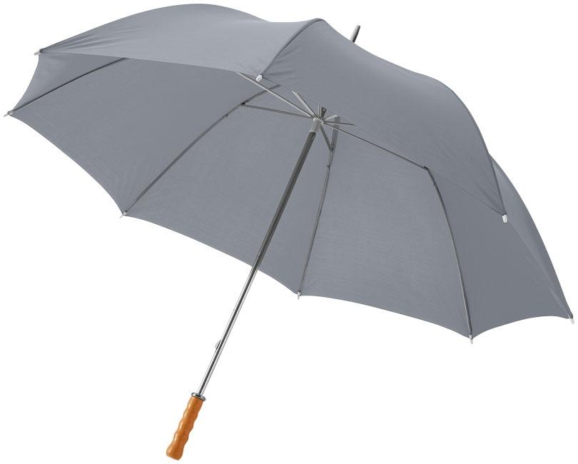 """Parapluie publicitaire golf 30"""" Karl - Parapluie personnalisé - rouge"""