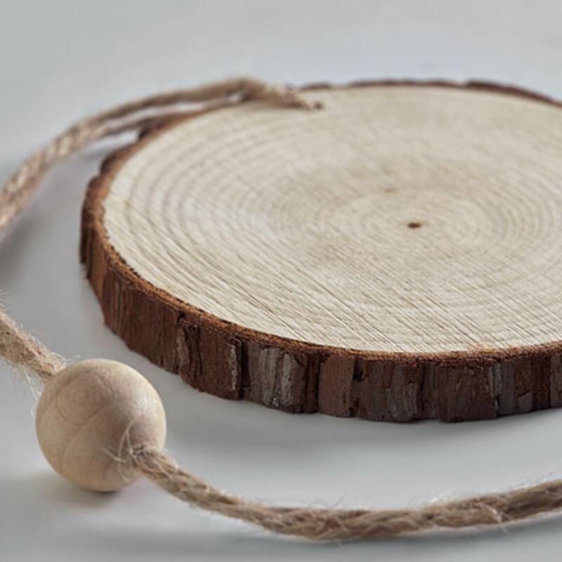 Cadeau d'entreprise écologique - Décoration de Noël en bois RINGWOOD