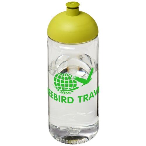 Gourde sport personnalisable - Bouteille de sport publicitaire H2O Octave Tritan™ 600 ml avec couvercle dôme