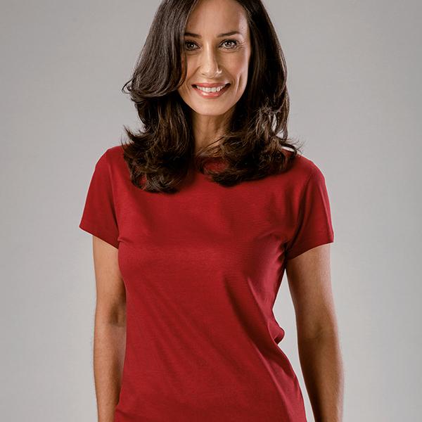 T-shirt publicitaire pour femme Sofia Women couleur jaune